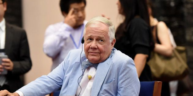Jim Rogers, American businessman, investor and author, attends an economic