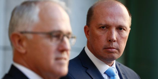 Prime Minister Malcolm Turnbull and Immigration Minister Peter Dutton announce the 457 visa has been...