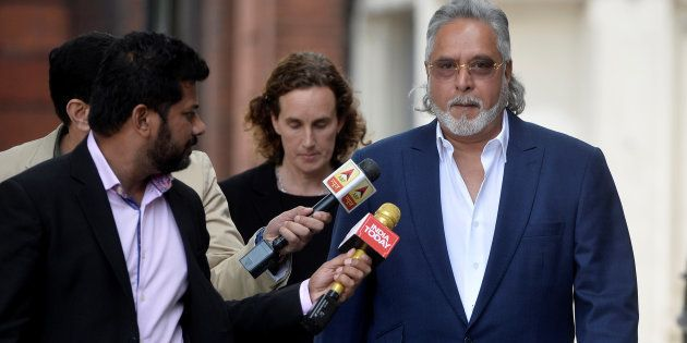 Vijay Mallya arrives for an extradition hearing at Westminster Magistrates Court in
