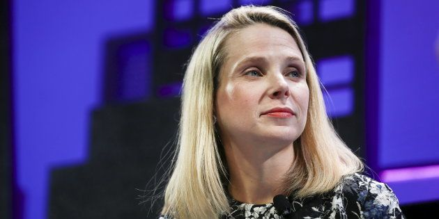 File photo of Marissa Mayer, President and CEO of