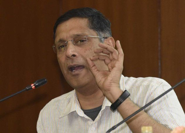Chief Economic Adviser Dr. Arvind Subramanian addresses the members of the Legislative Assembly of NCT...