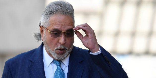 Indian tycoon Vijay Mallya arrives at Westminster Magistrates Court in London, Britain, March 16,