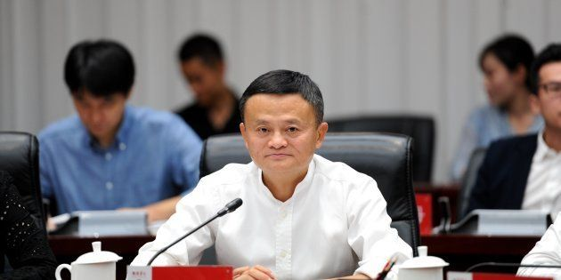 Alibaba co founder Jack Ma in a file