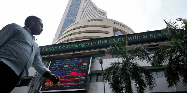 The Sensex had plunged 714 points Monday in its worst session in two months on pre-poll