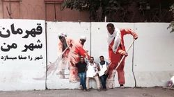 A Group Of Painters Wants To Turn Strife-Torn Kabul To The World's Graffiti