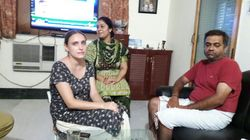 Russian Woman Complains Of Abuse From Mother-In-Law, Swaraj Steps