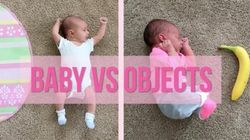 VIDEO: In A Hysterical Photo Series A Mother Documents Her Tiny Baby Against Everyday