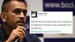 Internet Comes Together To Wish Mahendra Singh Dhoni A Happy