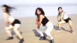 WATCH: Three Dancers Slay With Their Moves To 'Cheap Thrills' On Juhu
