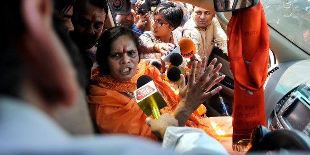 File photo of Sadhvi