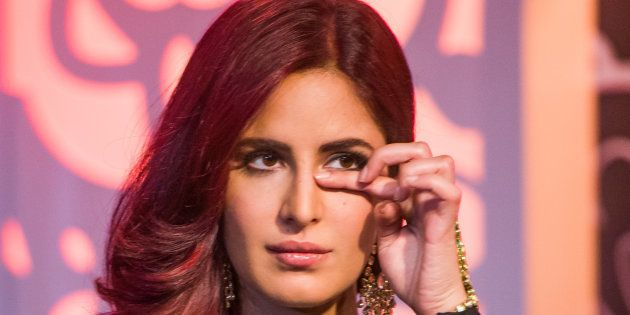 Katrina Kaif attends a photocall to unveil her new wax figure at Madame