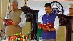Pema Khandu Sworn In As Arunachal Pradesh Chief