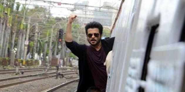 Anil Kapoor's 'Stunt' On A Mumbai Local Has Gone Terribly
