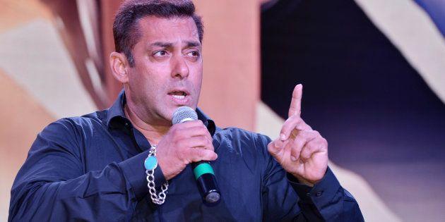 File photo of actor Salman Khan.