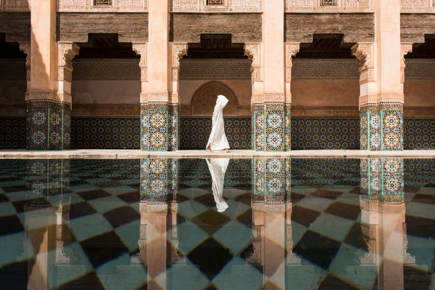 Even though there were a lot of people in Ben Youssef, still here was more quiet and relaxing compare...