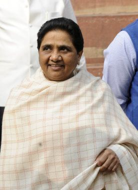 NEW DELHI, INDIA DECEMBER 03: Mayawati at the Parliament during the winter session in New Delhi.(Photo...