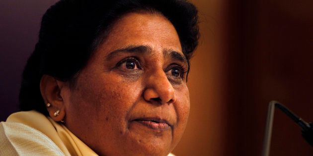 Former chief minister of Uttar Pradesh state Mayawati, whose party suffered a crushing defeat in he recently...