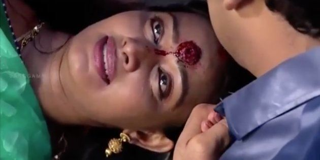 This Woman In A Tamil Soap Gets Shot In The Head And Stays Alive