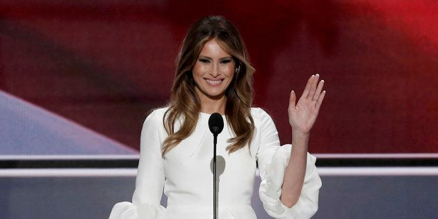 Melania, Michelle And The Fine Art Of Public