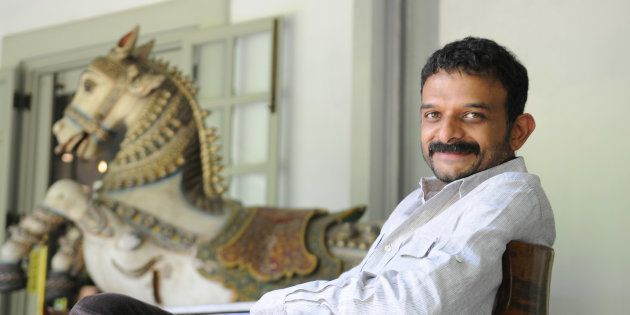 Carnatic music vocalist TM Krishna (Photo by Sharp Image/Mint via Getty Images)
