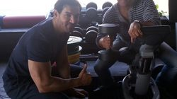 John Abraham Puts The Dish Into 'Dishoom', But He Doesn't Stick His Butt Out For