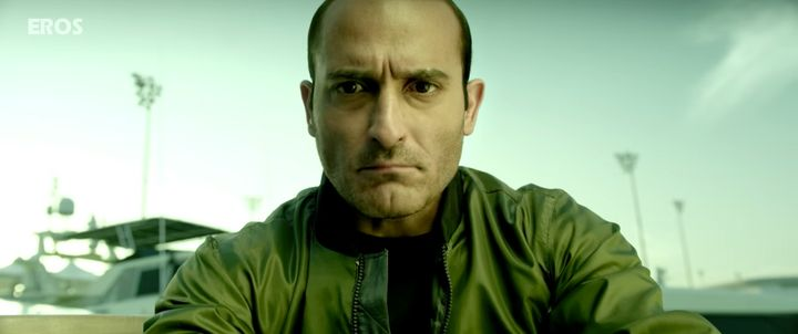 Akshaye Khanna, in a still from 'Dishoom'.
