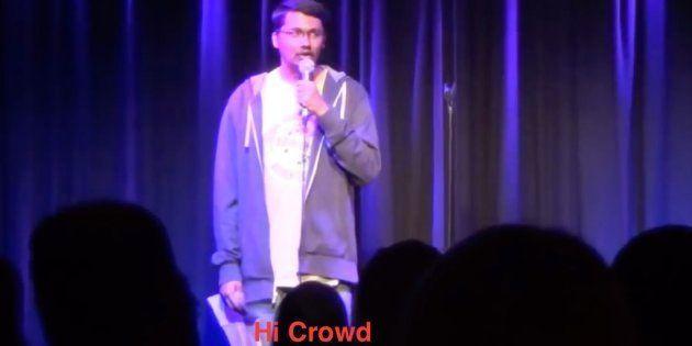 Stand-up comedians get nervous