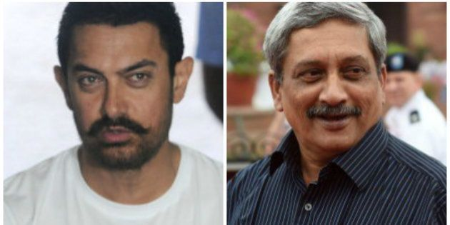 Manohar Parrikar Rakes Up Aamir Khan's Controversial Comment, Calls It