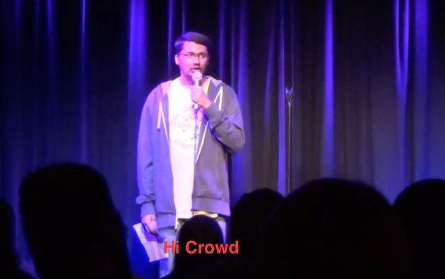 This Very Awkward Comedian Trying To Do Stand-Up Is Unbelievably
