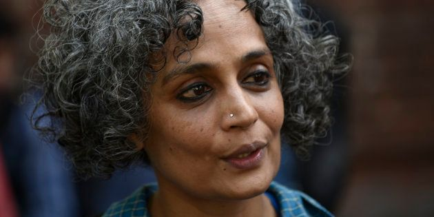 Writer and activist Arundhati Roy in New Delhi, March,