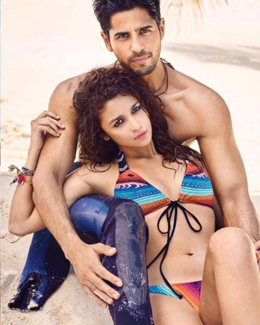 Sidharth Malhotra and Alia