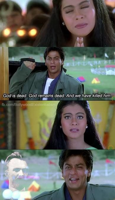 These Bollywood Memes With Existential Captions Are Damn