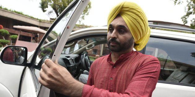 File photo of AAP MP Bhagwant