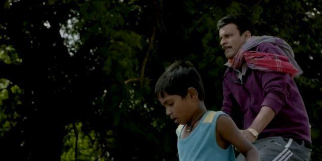 Mayur Patole and Manoj Bajpayee in a still from the