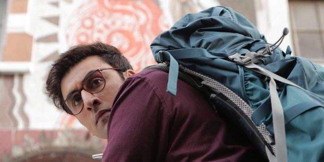 Ranbir Kapoor in a promotional still from 'Jagga