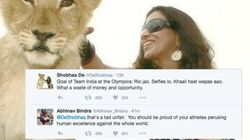 Shobhaa De Gets Roasted On Twitter After Her Dig At Indian