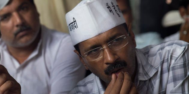 Arvind Kejriwal in a cropped still from 'An Insignificant
