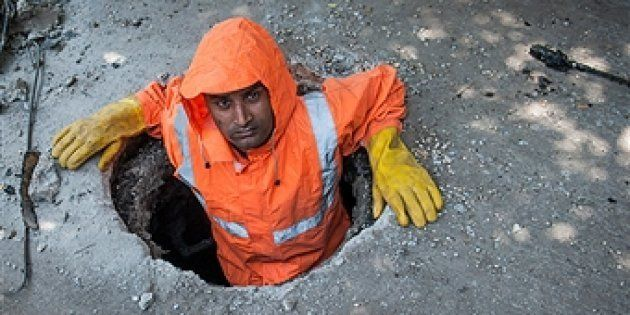 The sewer divers of Delhi risk their lives to unclog the city's maze-like drains. Dubbed 'manual scavengers', the workers wade through human waste for 30 days a month and are paid just Rs 300 a day - regardless of their level of experience.