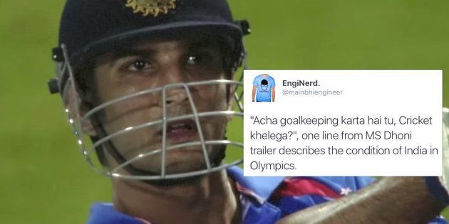 Dhoni's Biopic Trailer Causes An Online Goosebumps