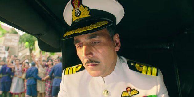 Akshay Kumar in 'Rustom'.