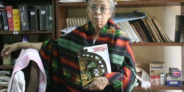 The writer died in Kolkata today at the age of 90.