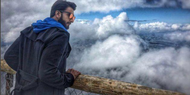 Ranveer Singh vacationing in