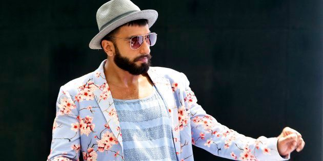 Oh, Nothing, Just Ranveer Singh Posing With Topless Women In
