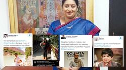 Smriti Irani's Viral Campaign Finds Resonance With Thousands Of Indians Who Love