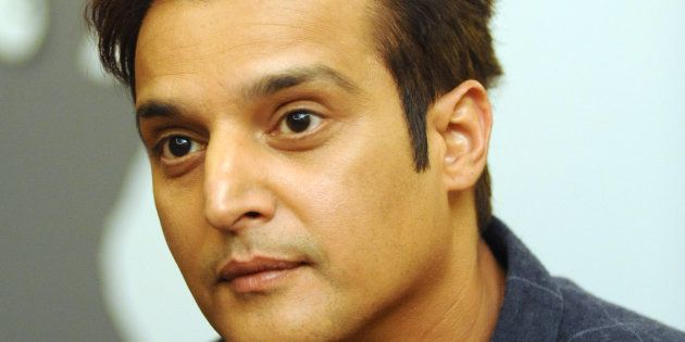 Indian Bollywood actor Jimmy Sheirgill poses for a photograph during a promotional event for the forthcoming...