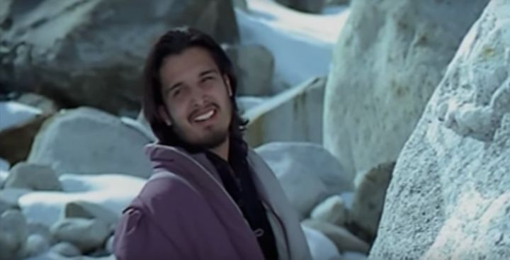 Jimmy Sheirgill in his debut film, 'Maachis' (1996).