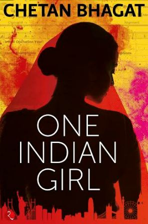 The cover of 'One Indian Girl'.