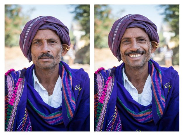 This Photographer Travelled Across India To Take Pictures Of Smiling