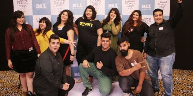 The winners of Lakmé's first plus-size model auditions