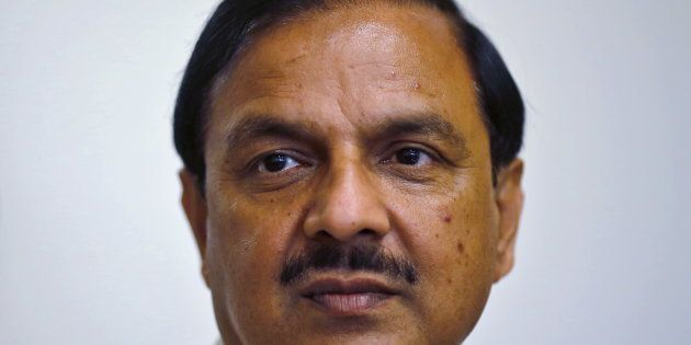 File photo of India's Culture Minister Mahesh Sharma in New Delhi, on 23 September,